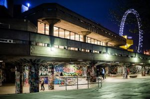 If you have ever walked along London�s famous South Bank your eye will have been caught by the bright colours of the heavily graffitied Undercroft skate park, and the impressive tricks (and falls) of the skateboarders, BMXers, and other urban sports enthusiasts who use the park frequently.