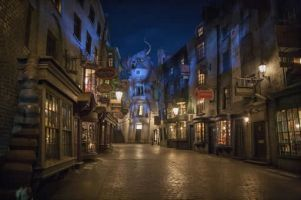 Mathew Gillings visits The Wizarding World of Harry Potter at Universal Studios, Orlando.