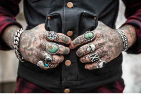 It's said that if you have tattoos in Japan, it's best to cover them up. Over there, it's presumed that anyone with tattoos is a Yakuza (organized crime in Japan), or a Western equivalent.