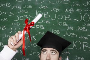 Graduates are disheartened by big businesses' poor communication skills when applying for jobs.