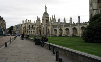 King's College students in nearby accommodation were told to stay away from windows and remain indoors.