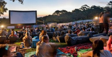 With brighter evenings and longer nights, here's your full round-up of locations to watch a film outdoors this summer.