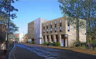 The Shield student halls in Newcastle was found to have used the same cladding as Grenfell Tower.