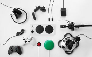 The device addresses the needs of gamers for whom ordinary gamepads aren't an option.