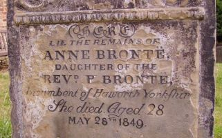 It's only 169 years since she died, after all.
