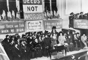 100 years on from the vote, the struggle isn't over