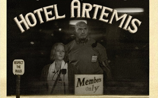 This all-star cast is set to cause trouble in the criminals-only emergency room Hotel Artemis.