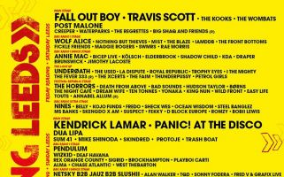 Fall Out Boy, Kendrick Lamar and Kings of Leon top this year's bill.