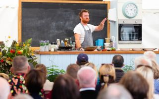 At West Dean's Chilli Fiesta, chef Jack Stein chats about the festival and offers advice for foodie students.