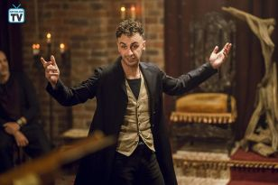 Genesis and Jesse are re-united with the self-confessed non-Messiah cherishing ,but controlling his powers while everyone seems to a maniac to everyone else in a fantastic penultimate episode of Preacher.