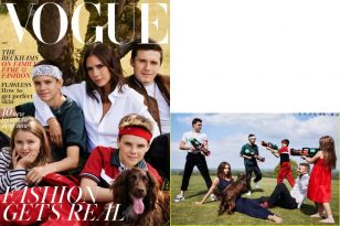 Vogue shares their stylish and sensational shoot with the fashion iconic that is Posh Spice - sorry, Victoria Beckham.