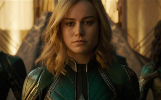 Catch a glimpse of Brie Larson as the iconic Marvel superhero in the first trailer for the film