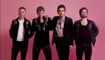 The upbeat pop-rock anthem signals the Irish newcomers' arrival to the mainstream music scene.