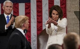 'Pelosi's clap is the mood.'