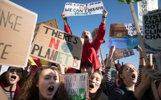 Secondary school students across the UK have been taking part in the Youth Strike 4 Climate protests.