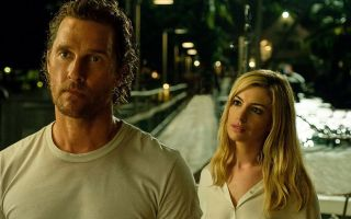 Anne Hathaway and Matthew Mcconaughy star as ex-lovers in a sexy noir thriller
