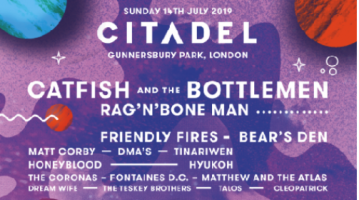 Citadel is a one-day jam-packed jumble of music, arts, talks, comedy, and more.