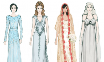 From Daenerys Targaryen to Carrie Bradshaw, we take you through the best TV wedding dresses ever.