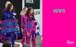 Hannah Morley's disco-themed collection was a highlight of GFW.