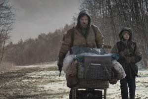 A review of the cinematic remake of Cormac McCarthy's celebrated post-apocalyptic novel..