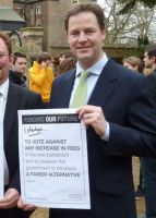 David Cameron and Nick Clegg have blasted the