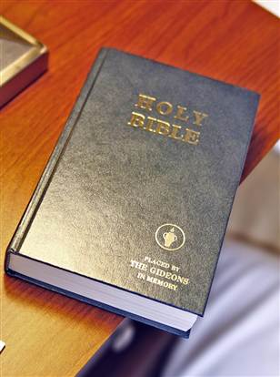A hotel has announced that copies of the Gideon Bible will be replaced by bestseller Fifty Shades of Grey in order to meet the demands of its customers.