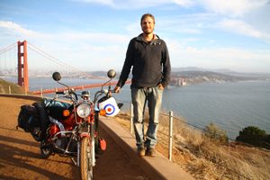 In 2009 Nathan Millward rode back from Australia on a postie bike, penning his adventures along the way. Here he describes his latest adventure: America, coast to coast on the same bike.