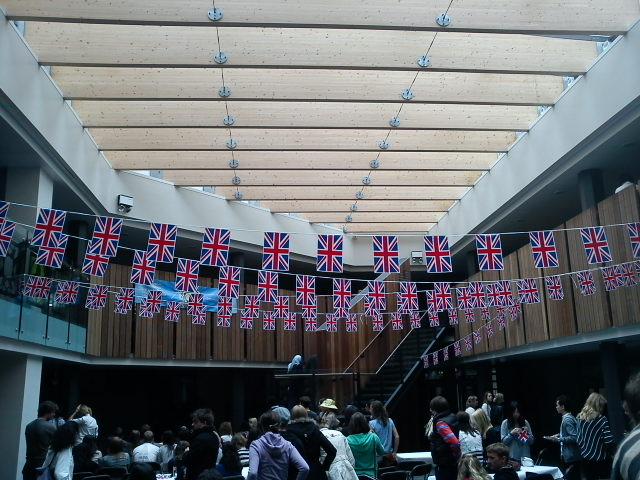 Watching the Royal Wedding in the SU