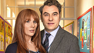After a bit of break from television, David Walliams and Catherine Tate are back in the new show, Big School. Written by Walliams and comedy trio Dawson Bros this sitcom centres on the romantic lives of high school teachers.