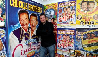 The latest superfan we've been chatting to is Shaun Hope, whose love for the Chuckle Brothers appears to know no bounds. Here's an insight into his world. To me to you...