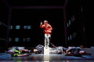 Hours before doors open at Birmingham Hippodrome for opening night of The Curious Incident of the Dog in the Night-Time, I catch up with lead Joshua Jenkins.