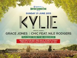 British Summer time brought disco to Hyde Park with Grace Jones, Chic and Kylie Minogue taking to the stage.