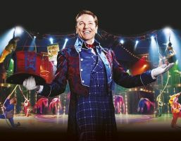 Cameron Mackintosh and Michael Harrison are bringing the Tony award winning show Barnum to Birmingham.