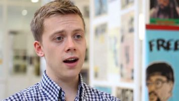 Dean Eastmond catches up with left-wing author Owen Jones at Latitude festival.