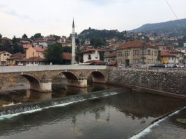 Sarajevo is one of those places where you turn up, have a poke around, and then realise you're not sure why you're there. It's enjoyable and all that, but there just isn't too much going on.