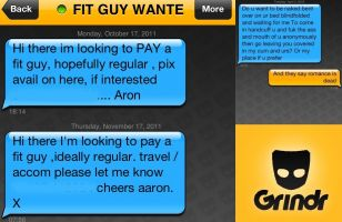 It has become common for older men to solicit sex from younger men and for racist and ageist comments to be used without repurcussion. Is this the dark underbelly Grindr?