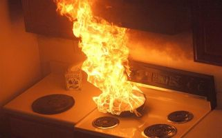 Students and cooking, a recipe for disaster? London Fire Brigade think so...