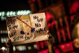 Donald Trump's Executive Order, signed on Friday, resulted in a global uproar and last night a wave of protest marches marked the UK's contribution.