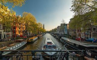 Amsterdam is renowned for its laid back atmosphere, stunning architecture and countless canals.