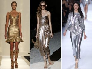 Our favourite fashion picks to keep you up with the metallic trend.