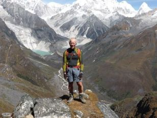Ian Whittaker will celebrate his 60th birthday 5,120m above sea level.
