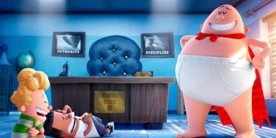 The DreamWorks backed old-school animation finally brings Dav Pilkey's world-famous children's novels to the big screen.