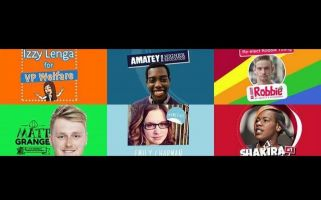 Emily Ann Chapman, Amatey Doku, and Izzy Lenga will be taking on NUS roles.