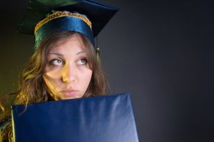Young women who graduate university not only earn less but have lower expectations to their male counterparts.