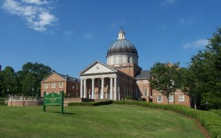 Samford University turned down the offer from state churches when it was demanded the group be shut down in return for the money.