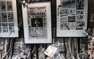 The studio has three floors dedicated to showcasing work from over the nine Harry Potter films.