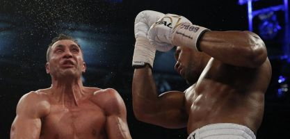 Anthony Joshua wouldn't rate his chances in a fantasy match-up with Mike Tyson.