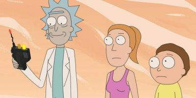Season three is officially (Rick)-rolling!