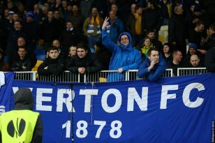 Trouble at Everton last night became the latest in a series of incidents.