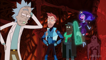 This latest episode is Rick and Morty meets Guardians of the Galaxy meets Saw.